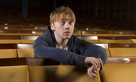 Rupert Grint at the Harold Pinter theatre